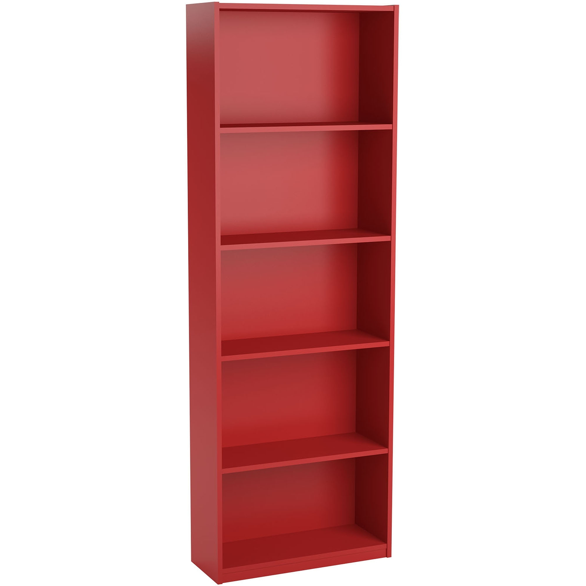 Furniture Home: Impressive Red Bookcases Picture Concept Ameriwood With Regard To Favorite Red Bookcases (View 4 of 15)