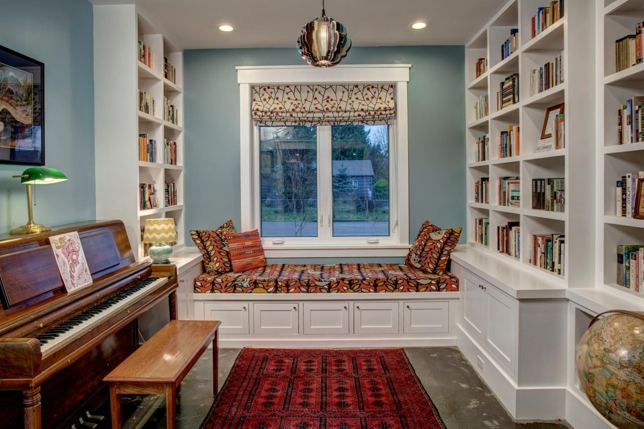 Furniture Home: Under Window Bookcase Furniture Home Rare Images In 2017 Under Window Bookcases (View 7 of 15)