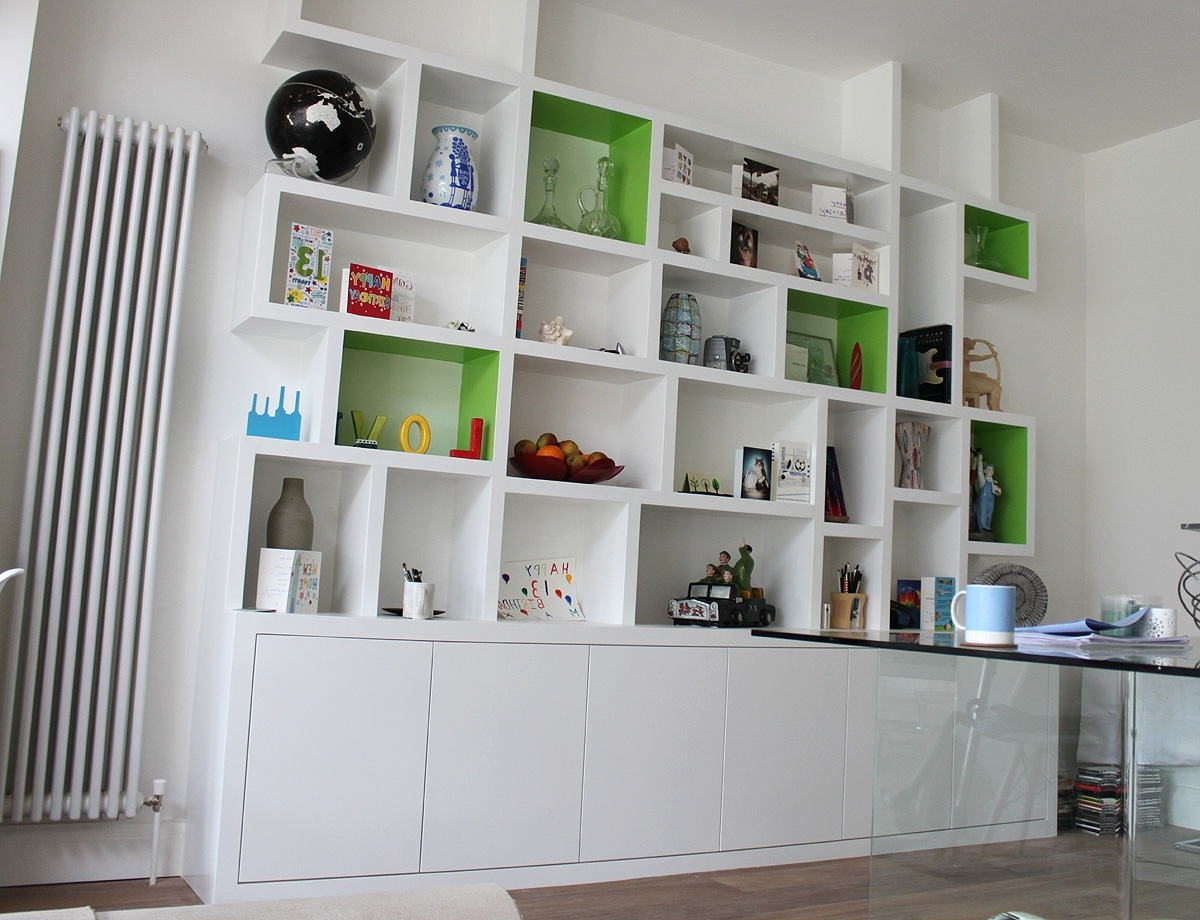 Furniture Home: Unforgettable Bookcase Made To Measure Picture With Regard To Most Up To Date Fitted Shelves (View 6 of 15)