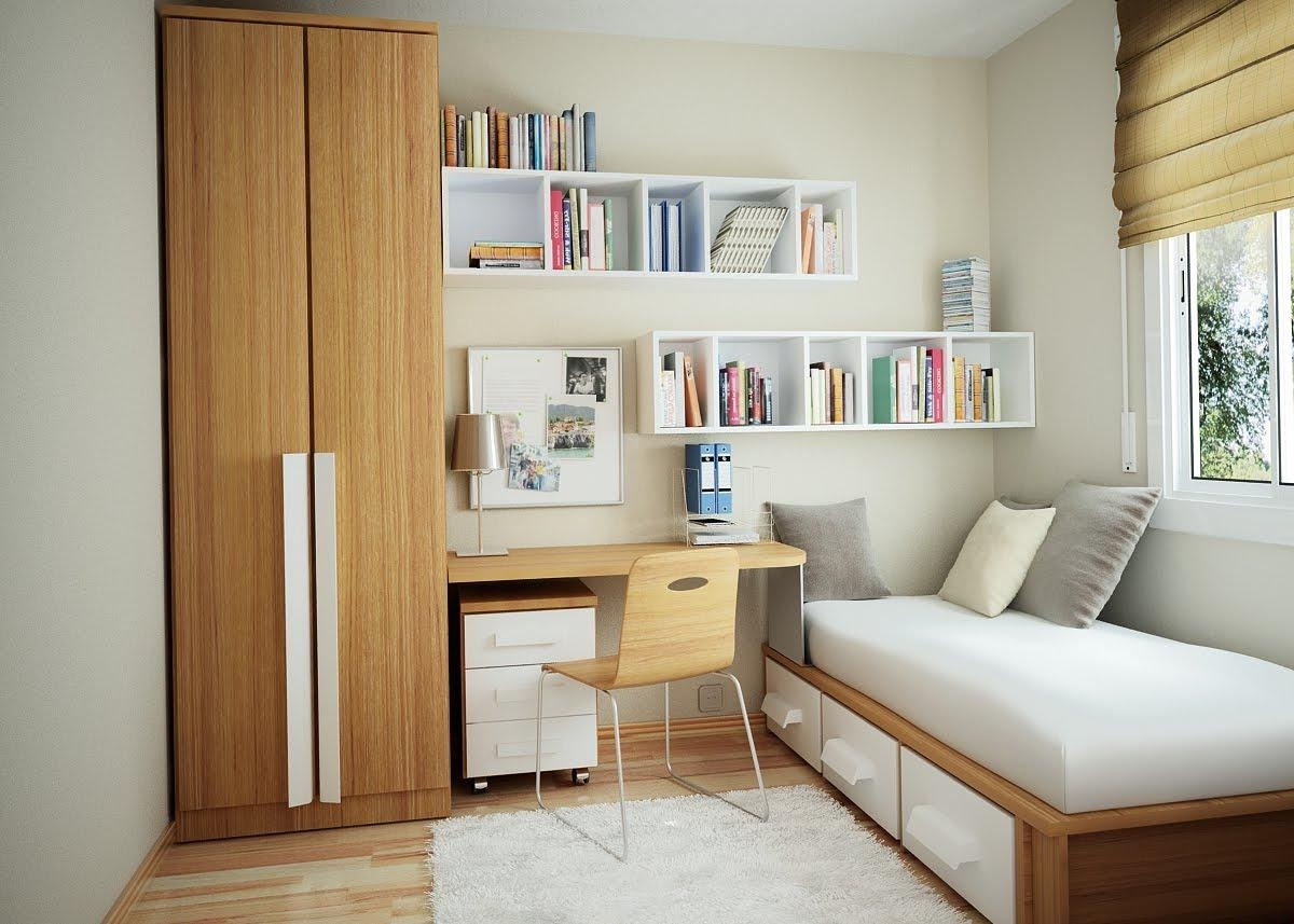 Furniture: Simple Bedroom Cabinet Design Wardrobe Cabinet Under Inside Favorite Study Wall Unit Designs (View 3 of 15)