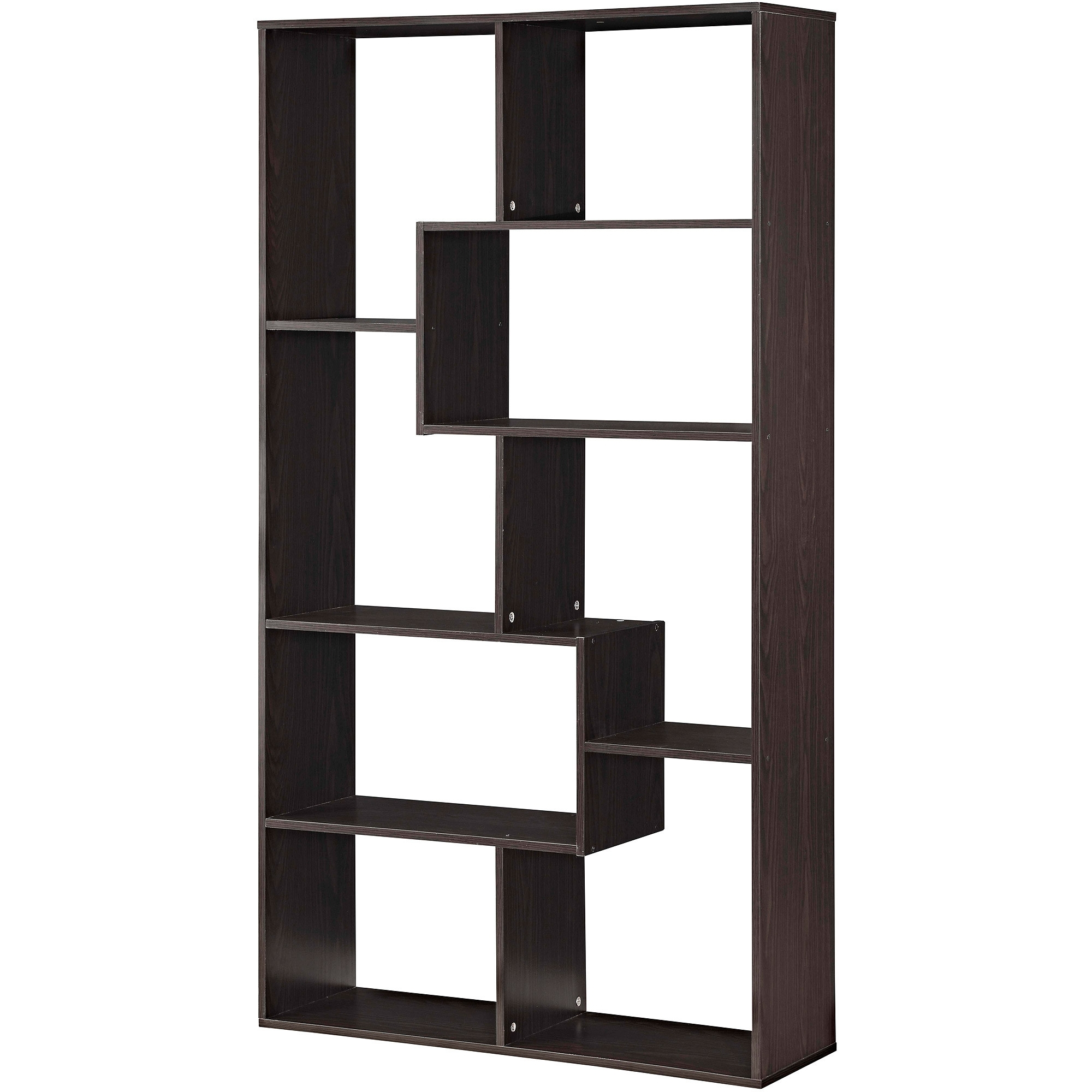 Furniture : Wonderful Bookcases From Walmart Lovely Furniture Nice Intended For Fashionable Black Bookcases Walmart (View 14 of 15)