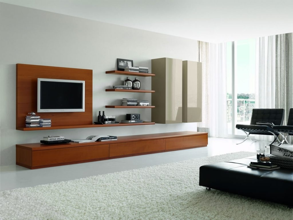 Gadgets And Tech In Trendy Modern Tv Wall Units (Gallery 13 of 15)
