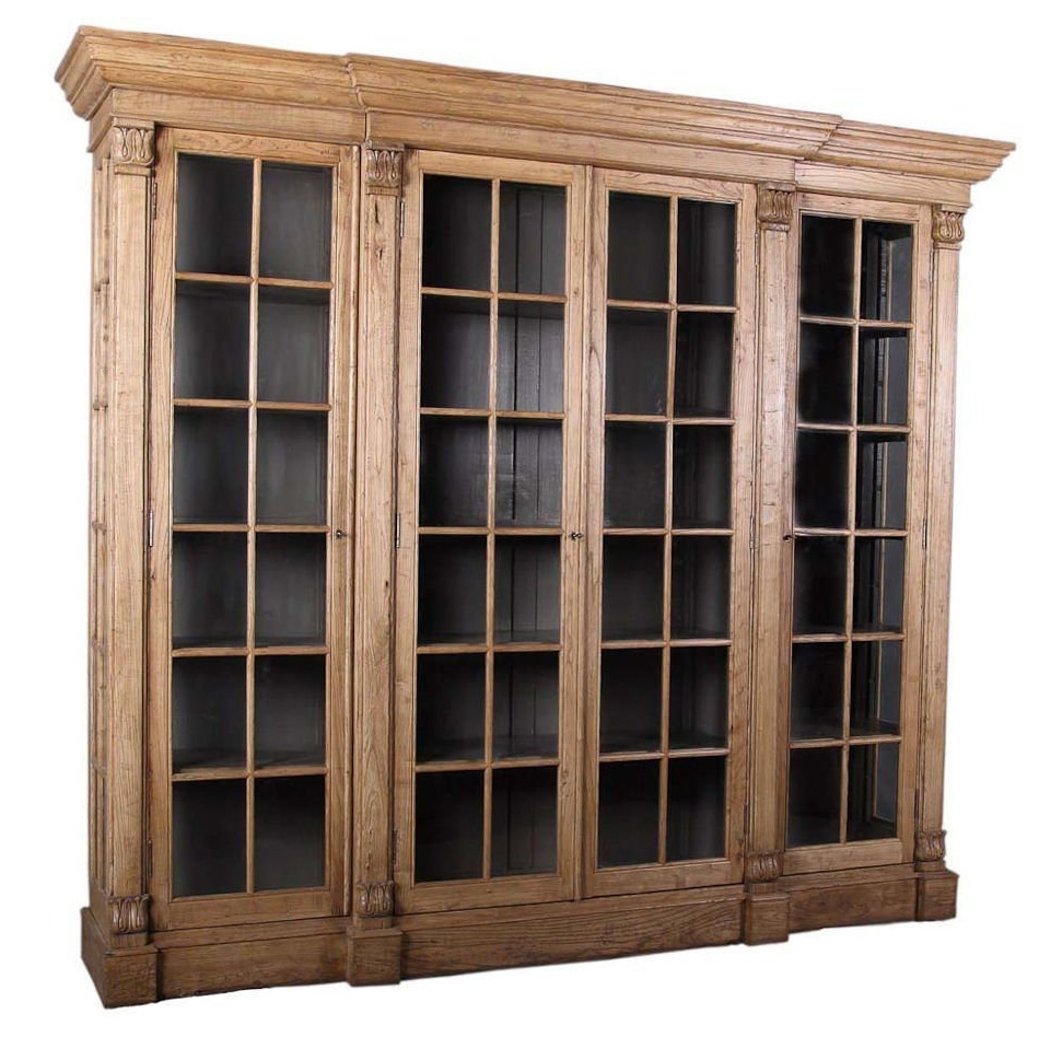 Featured Photo of Glass Front Bookcases