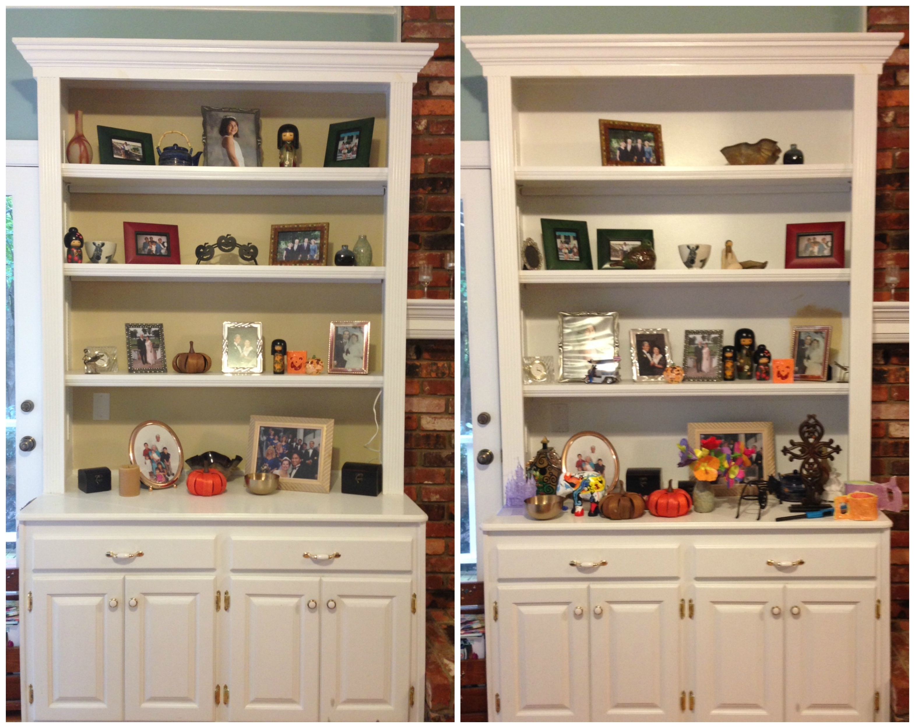 Gorgeous Pictures Of Book Shelves With Two White Shelves Also Intended For Recent Bookcases With Cabinet Base (Gallery 7 of 15)