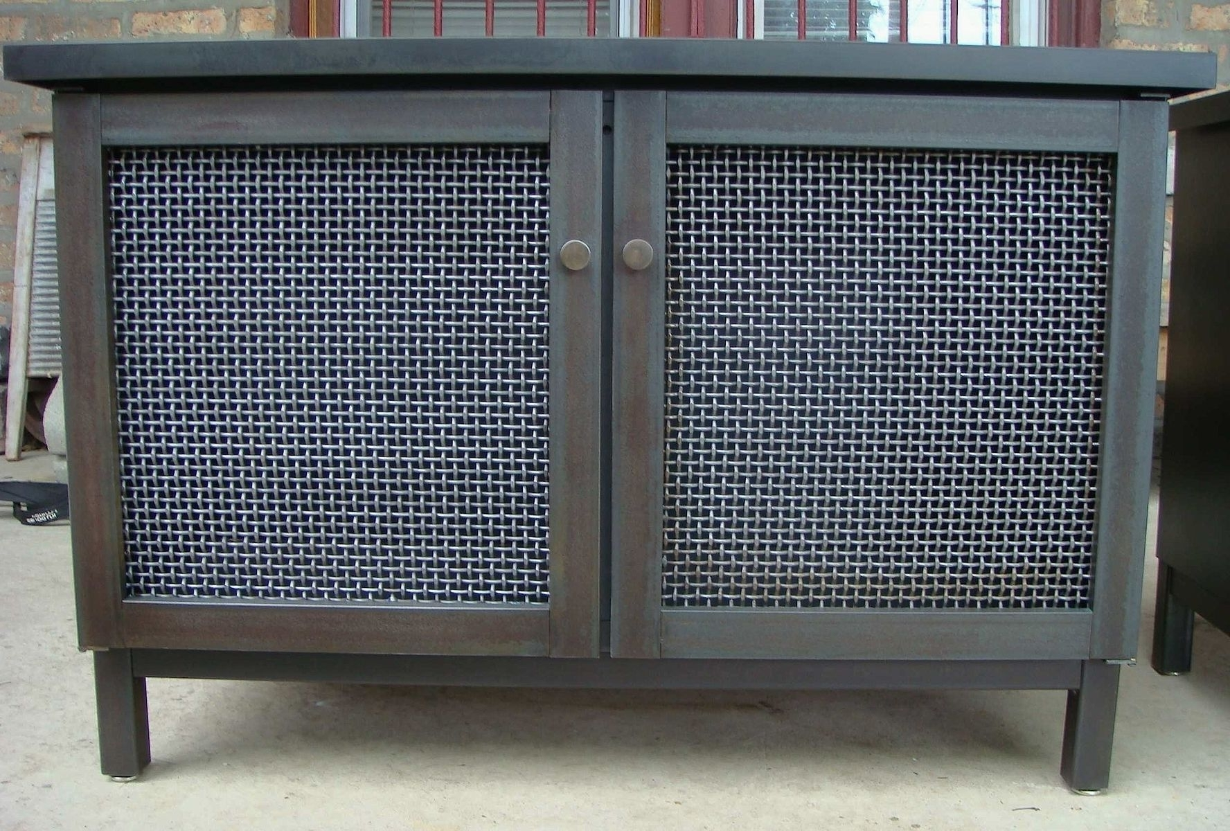 Hand Made Cabinet & Radiator Cover – Industrial Modernandrew Pertaining To Well Known Radiator Cover Tv Stand (View 8 of 15)