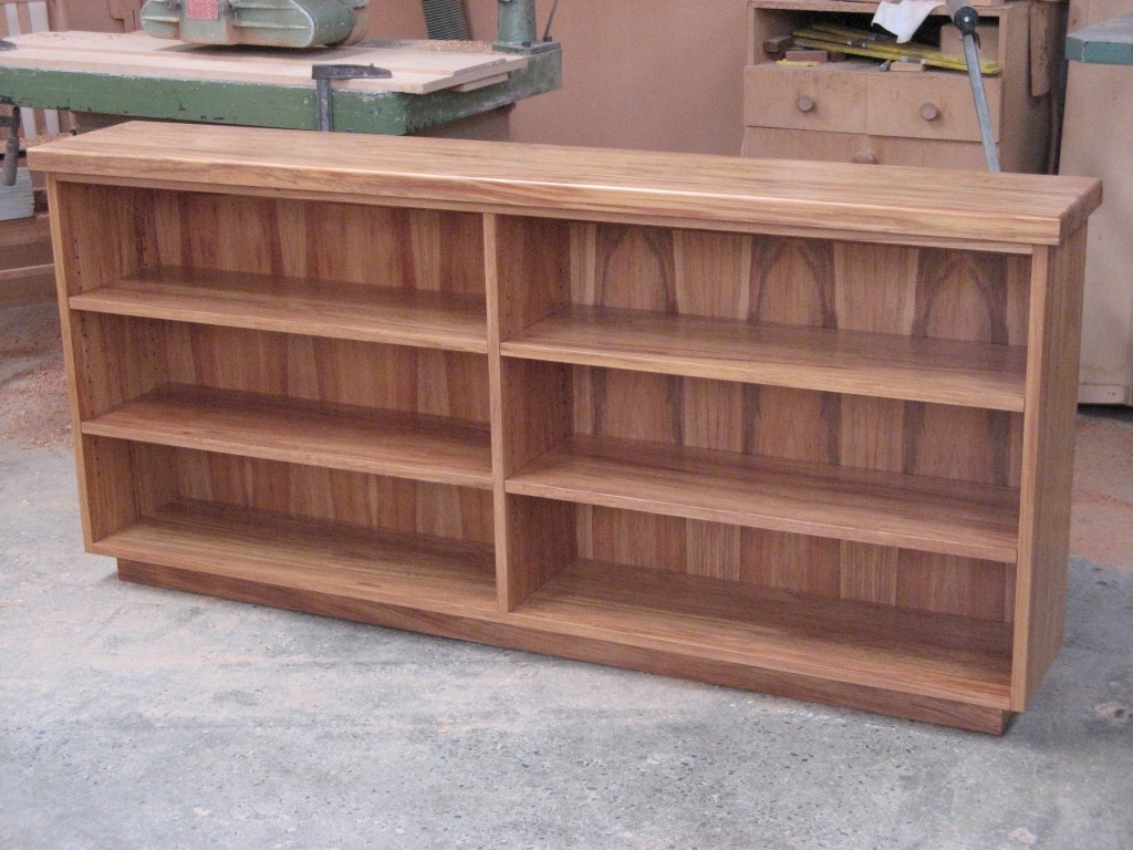 Handmade Bookcases Pertaining To Most Current Furniture: Low Bookcases Elegant Sophisticated Custom Handmade (View 5 of 15)