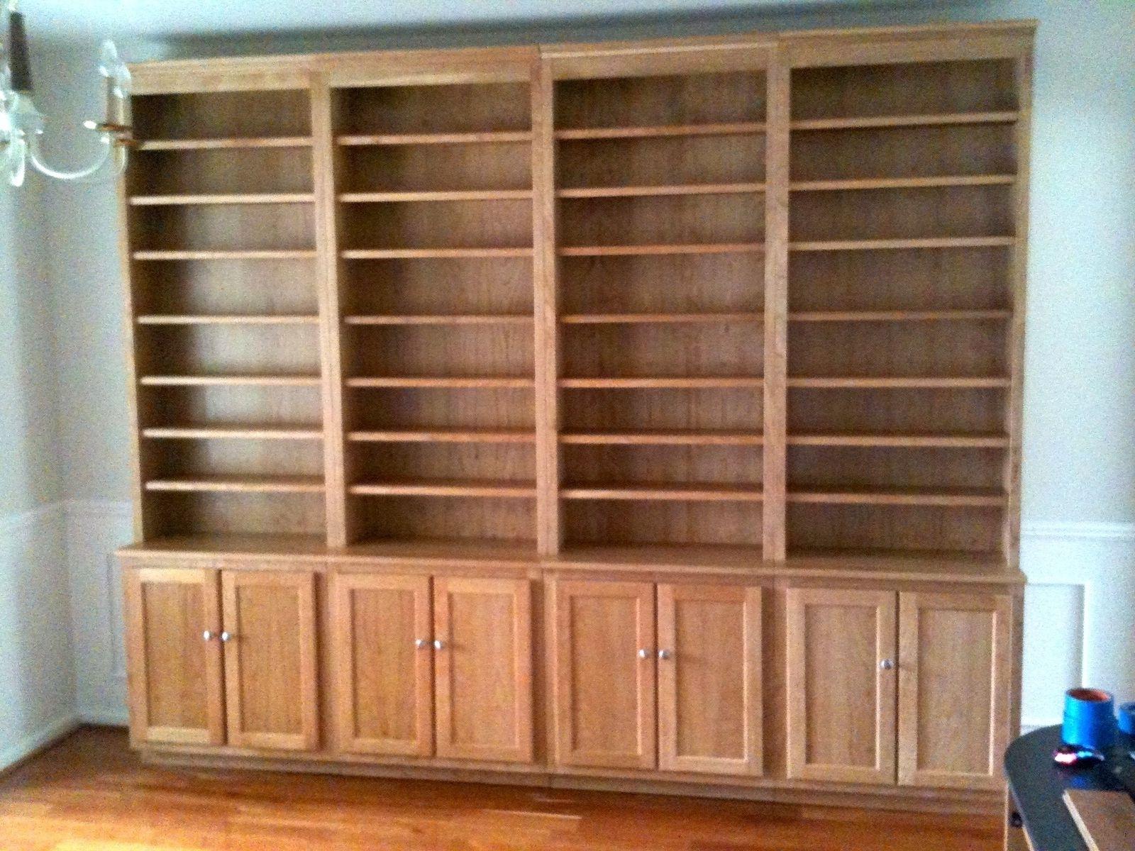 Handmade Bookshelves Inside 2018 Custom Bookcases (View 6 of 15)