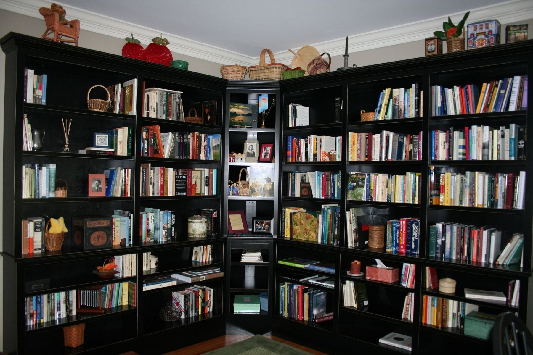 Handmade Home Study Bookcasebrassfield Custom Woodworks Inc Throughout Popular Study Shelving (View 5 of 15)