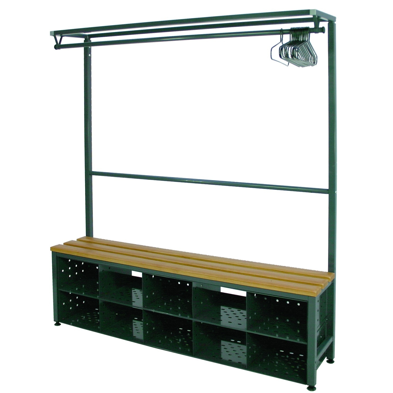 Hanging Rail : The Basic Wardrobe Heavy Duty Steel Clothes Rack With Regard To Current Double Hanging Rail For Wardrobes (View 11 of 15)