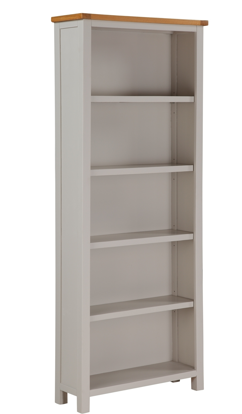 Hartford Painted Oak Tall Bookcase – Furniture Brothers Throughout Famous Painted Oak Bookcases (View 8 of 15)