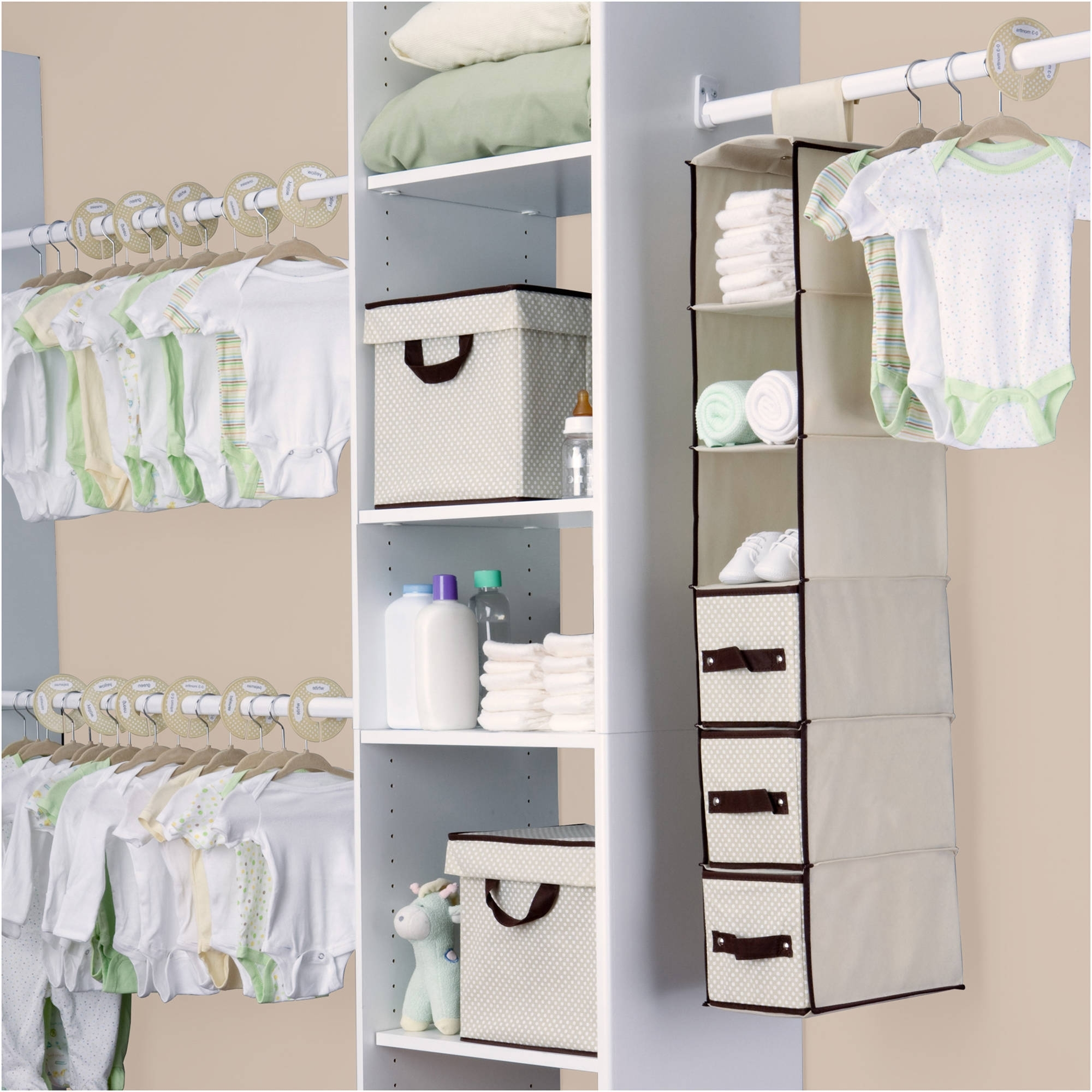 Heavy Duty Storage Wardrobe – Walmart Throughout Well Liked Wardrobes For Baby Clothes (View 8 of 15)
