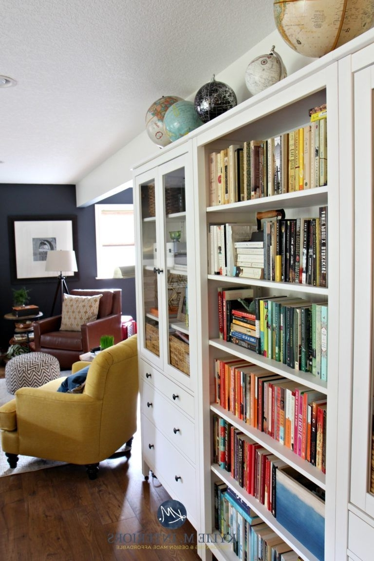 Hemnes In Family Room Bookcases (View 14 of 15)