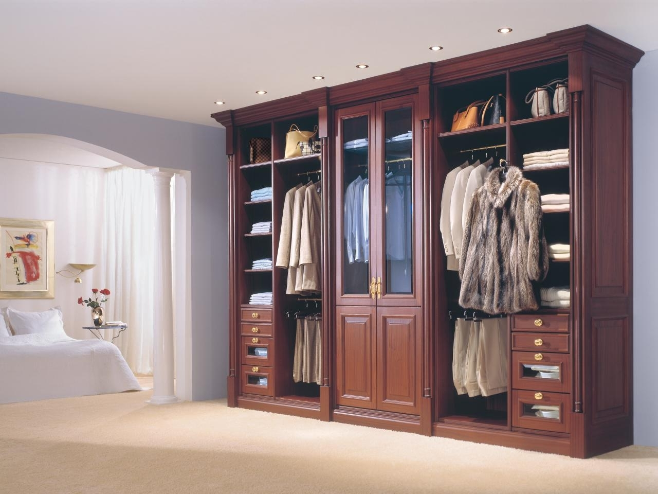 Hgtv Pertaining To Mobile Wardrobes Cabinets (View 3 of 15)