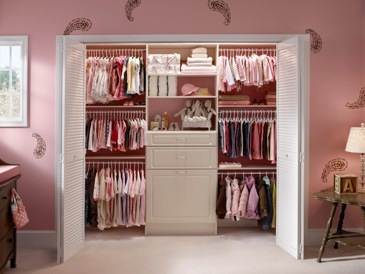 Hgtv Within Most Current Wardrobes For Baby Clothes (View 4 of 15)
