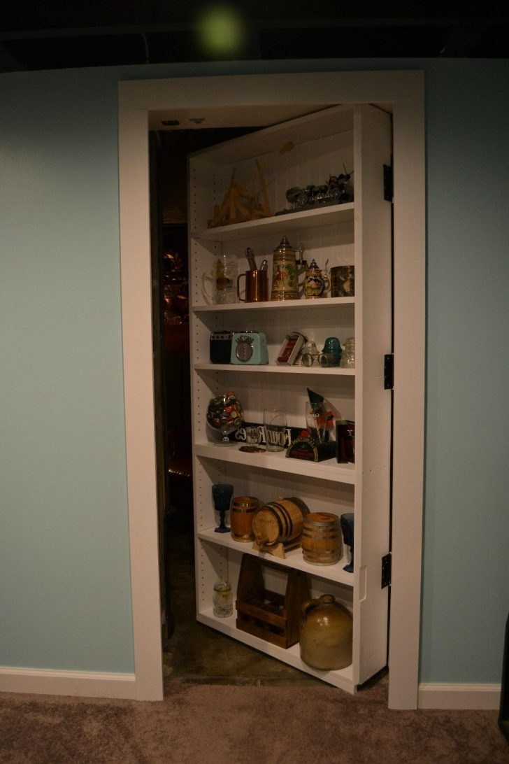 Hidden Door Bookcases Throughout Widely Used The Murphy Door 30 In (View 11 of 15)
