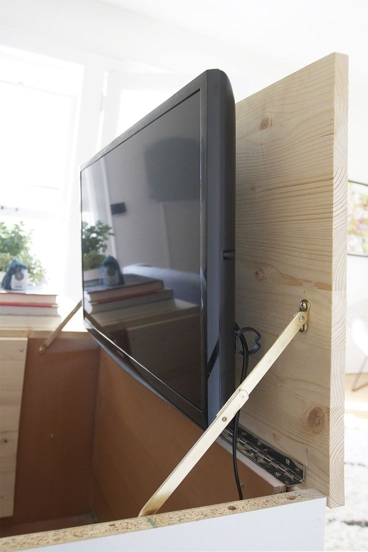 Hidden Tv Units Intended For Popular Best 25+ Hidden Tv Ideas On Pinterest (View 6 of 15)