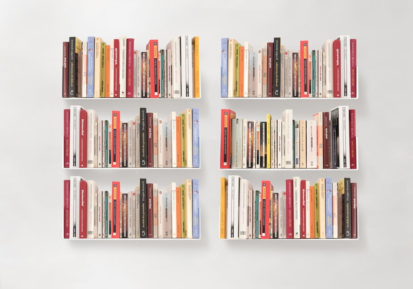 High Quality Bookcases In Widely Used Floating Bookshelves – Teebooks (View 7 of 15)
