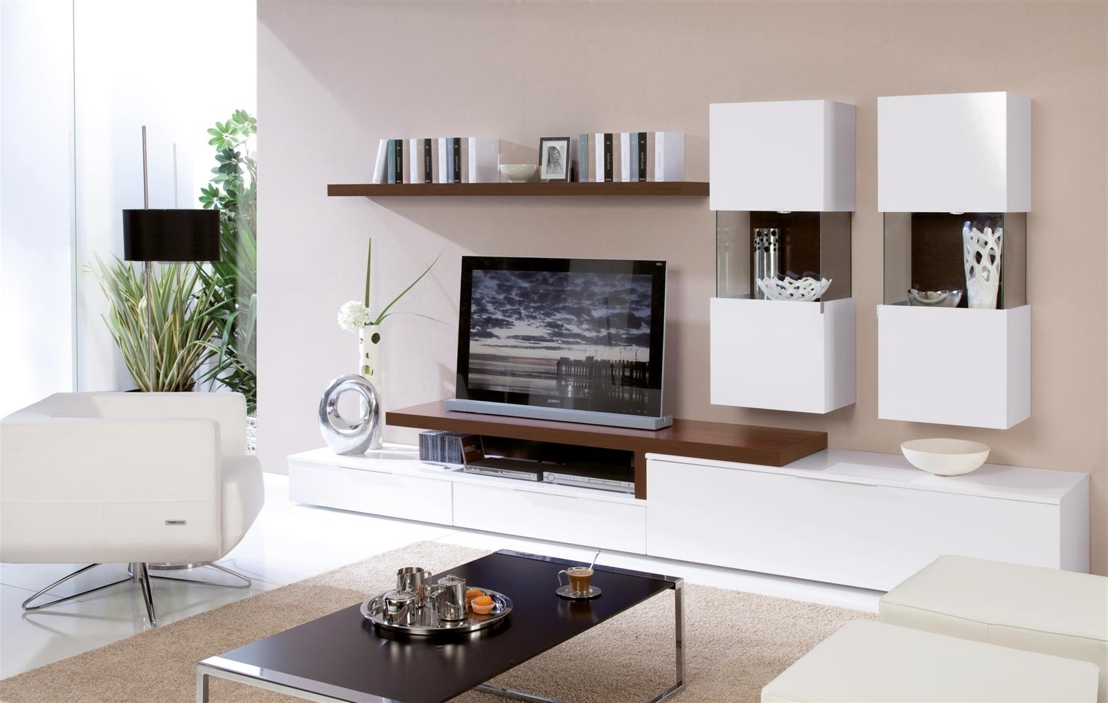Home Accessories: Stunning Tv Unit Design Wall Bar Leather With Regard To Most Recent Hidden Tv Units (View 10 of 15)