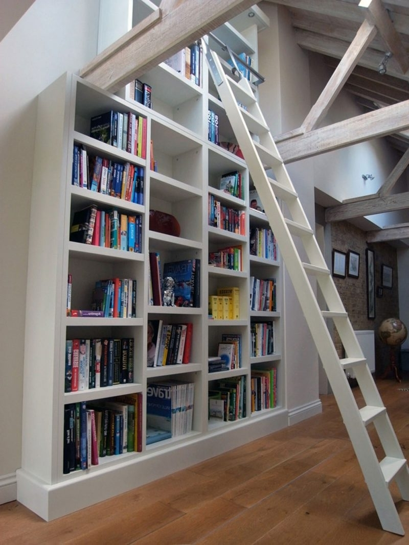 Home Design: Library Shelves For Home Creating Design Will Ensure Throughout 2018 Library Shelves For Home (View 8 of 15)