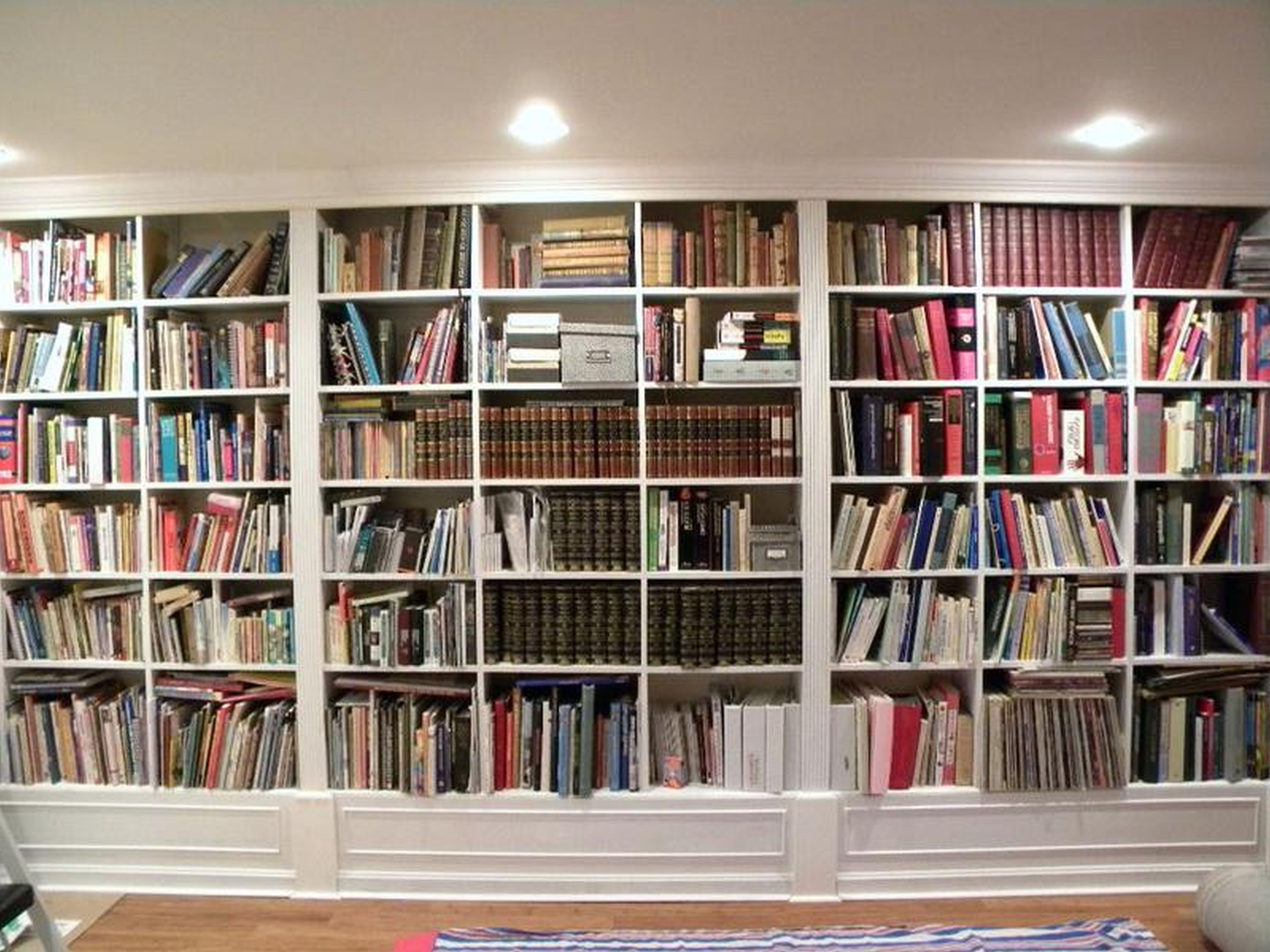 Home Design: Wall Of Bookshelves Bookshelf Cool Bookcases Design In Preferred Wall To Wall Bookcases (View 2 of 15)