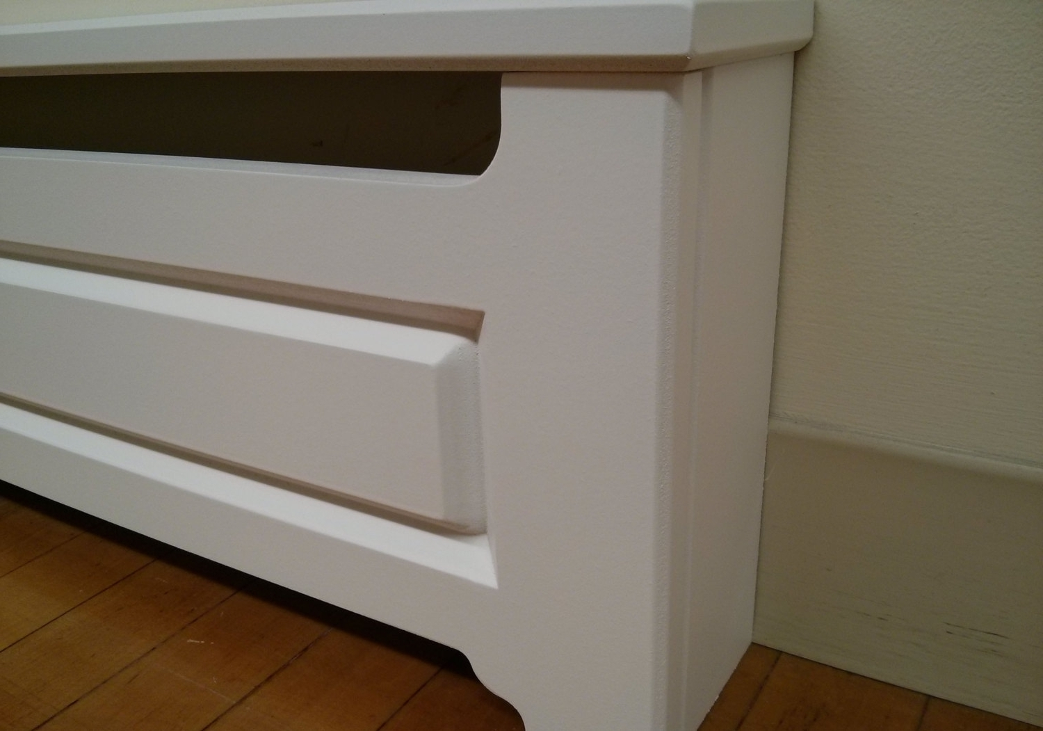 Home Design : Wooden Baseboard Radiator Covers Tv Above Fireplace For 2017 Radiator Cover Tv Stand (View 6 of 15)