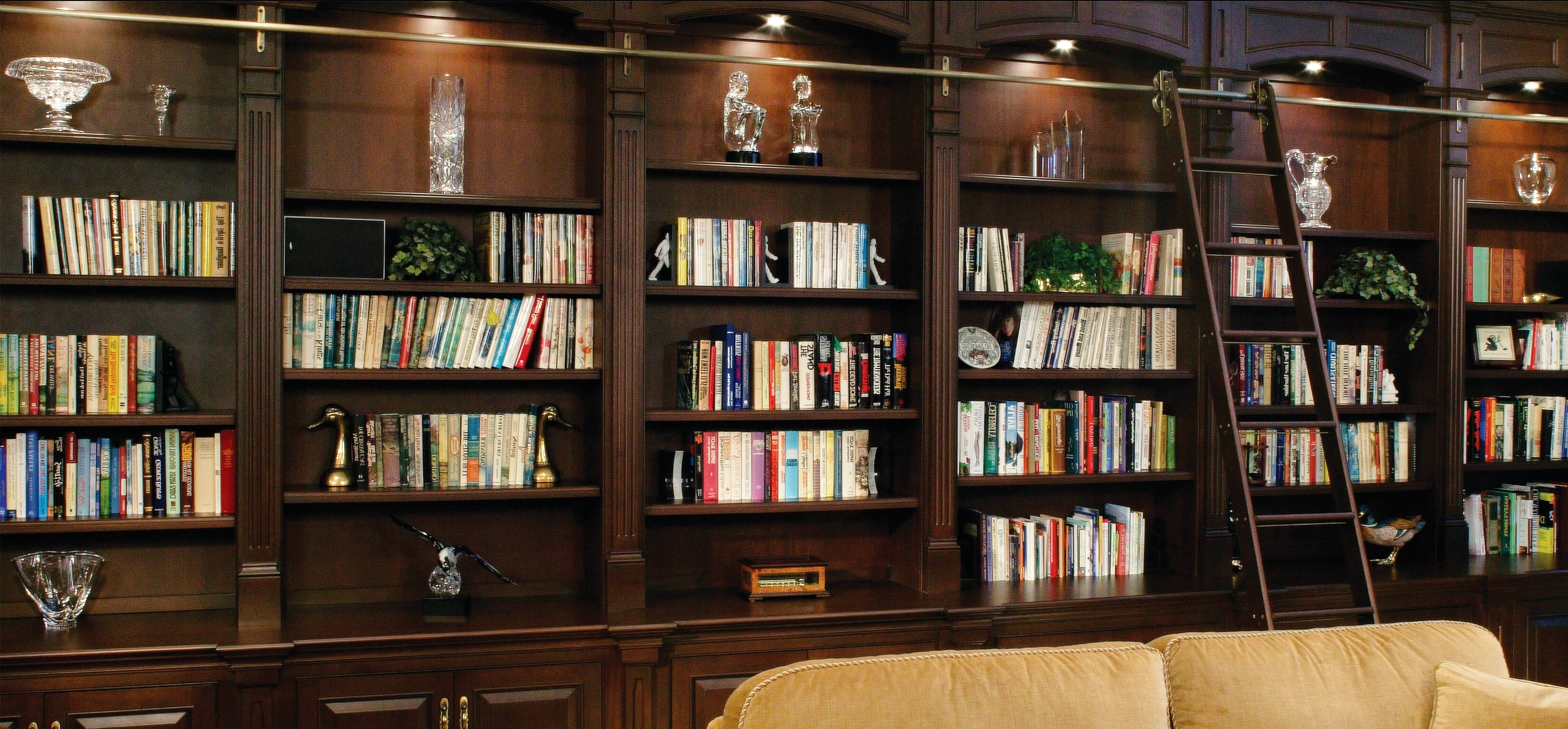 Featured Photo of Home Library Shelving System