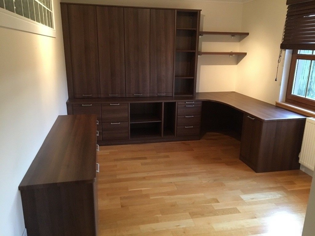 Home Office / Study Furniture Stunning Condition (Includes Desk Inside Most Popular Study Cupboards (View 7 of 15)