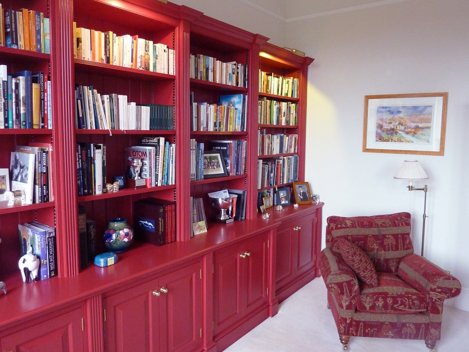 Home Offices, Studies And Libraries – Wood Works Of Westerham For 2018 Bespoke Libraries (View 8 of 15)