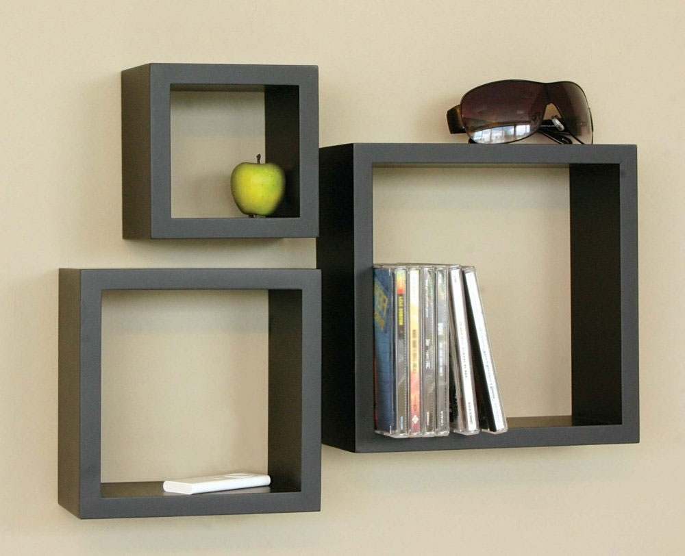 Home With Regard To Trendy Wooden Wall Shelves (View 4 of 15)