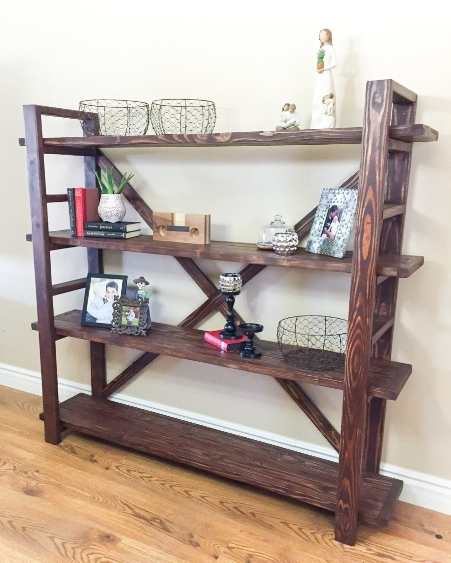 Homemade Bookcases Intended For 2017 1000 Ideas About Bookshelf Plans On Pinterest Bookcase Plans (View 10 of 15)