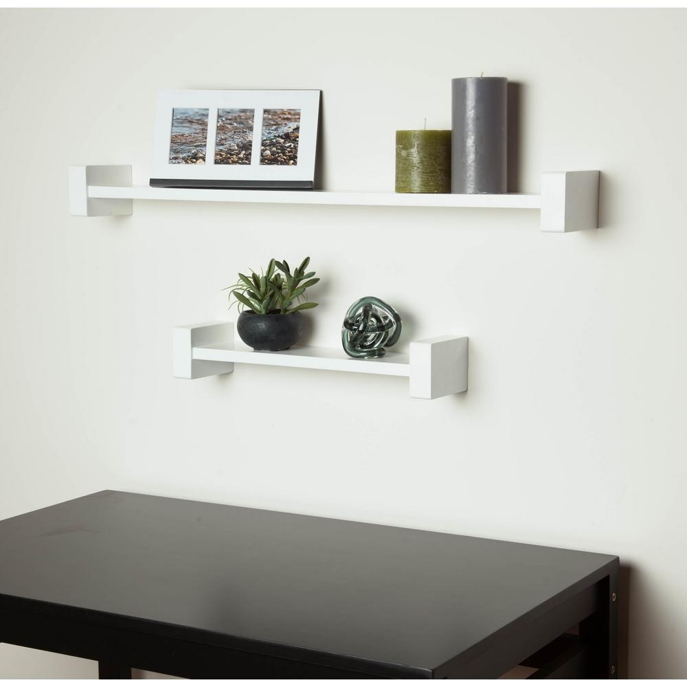 Featured Photo of White Wall Shelves