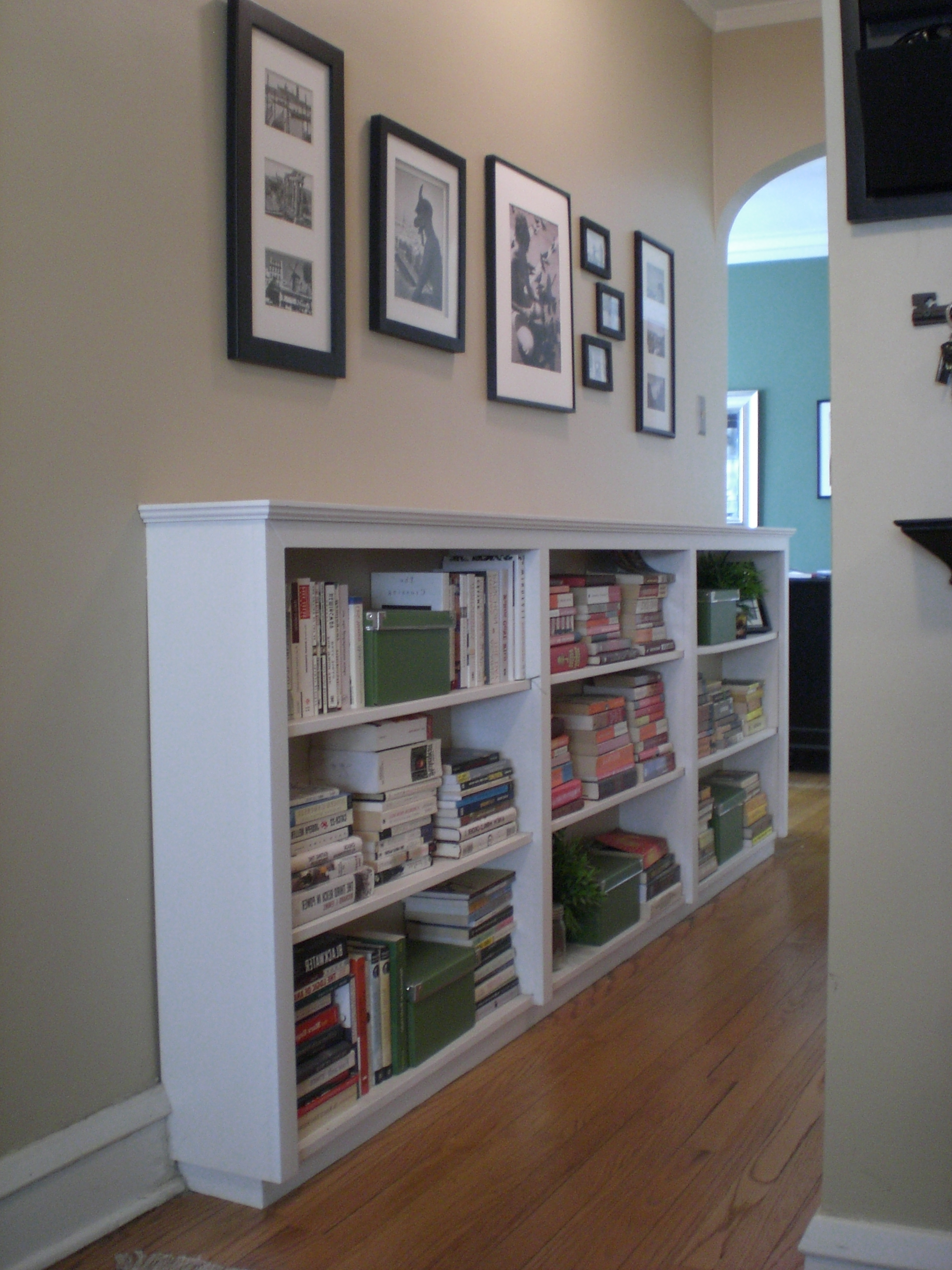 Horizontal Bookcases With Regard To Widely Used Inspirations: Cool Horizontal Bookcase For Storing Books And (View 11 of 15)