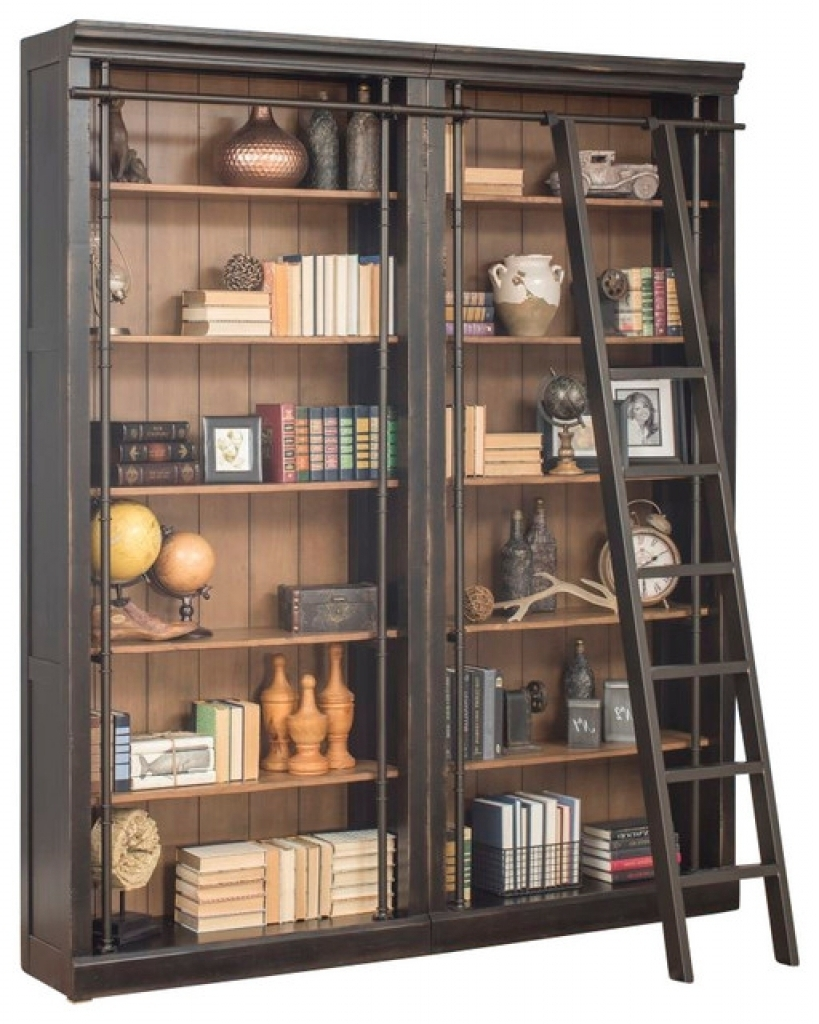 storage bookcase allen pottery wood rustic ethan barn off used dimensions bookcases