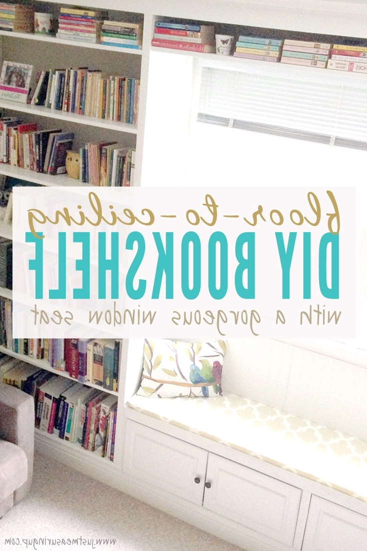 How To Build A Window Seat Bookcase With Regard To Popular Under Window Bookcases (View 9 of 15)