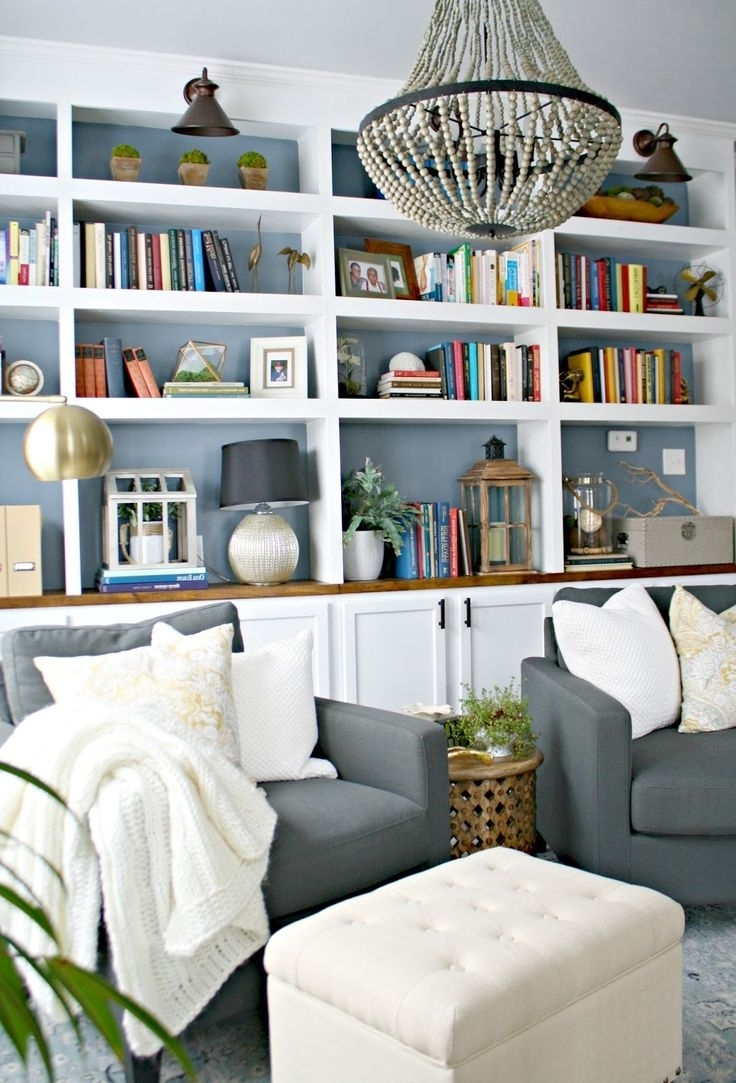 How To Fit More Books On A Bookshelf Bedroom Bookcase Decor Living Pertaining To Recent Bedroom Bookcases (View 9 of 15)