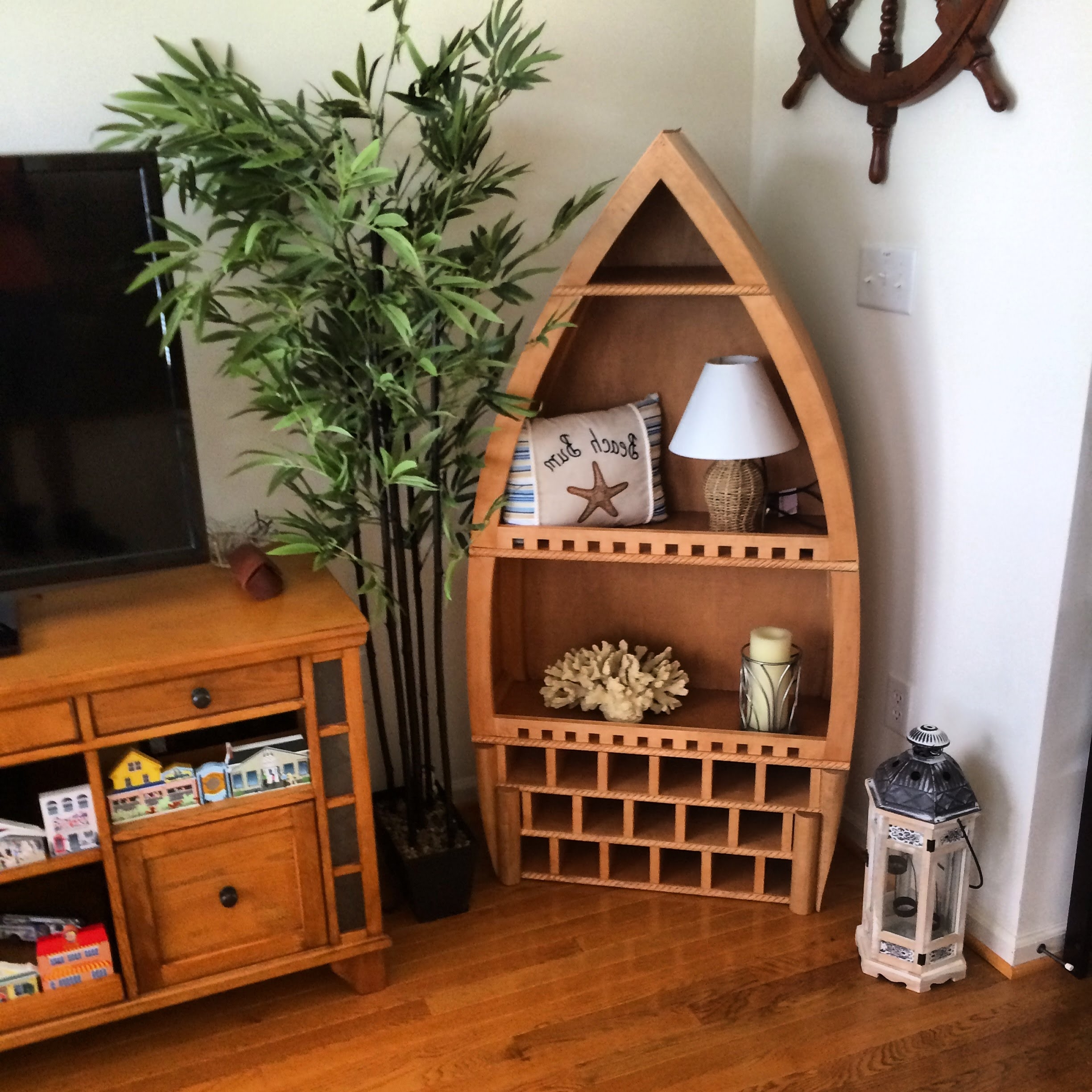 How To Make A Wine Rack Boat – Youtube With Regard To Well Known Boat Shaped Bookcases (View 15 of 15)
