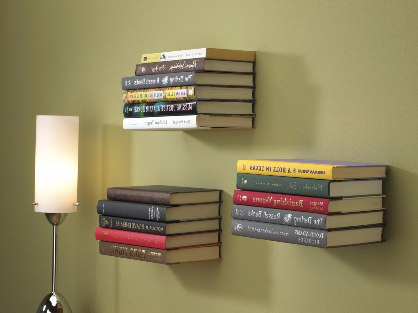 How To Make Floating Bookshelves – Insider With Trendy Floating Bookcases (View 10 of 15)