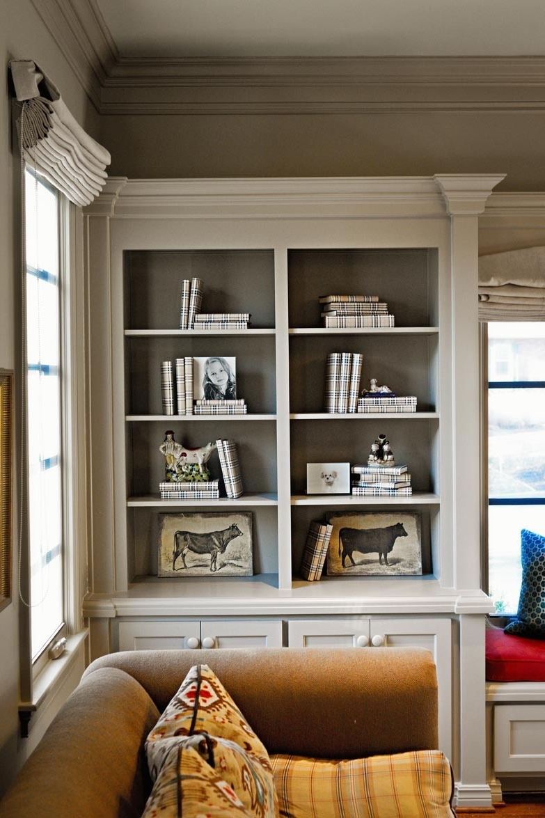 How To Style Bookcases That Tell A Story – Nell Hills Throughout Recent Classic Bookcases (View 10 of 15)