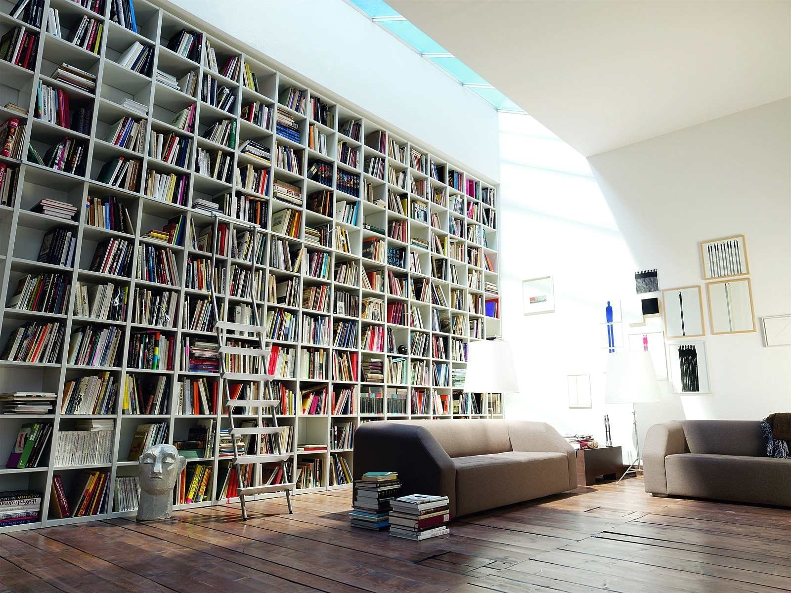Huge Bookshelves Inside Current Home Design: Excellent Amazing Bookshelves Pictures Ideas Home (View 15 of 15)