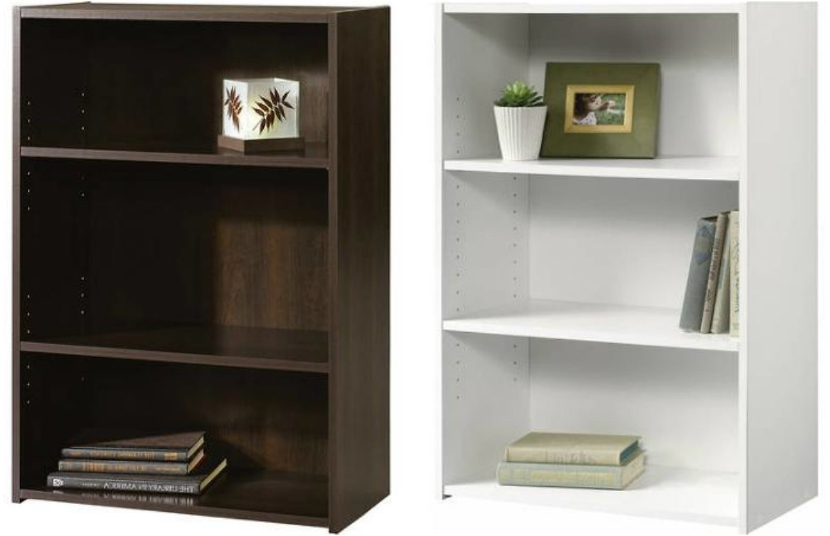 Huksf With Regard To Popular 3 Shelf Bookcases Walmart (View 3 of 15)