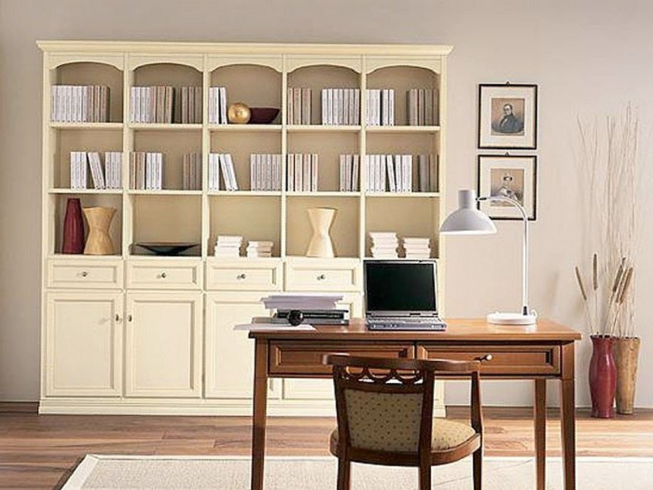 Ideas For Old Bookcases Traditional Bookcase Design Cadbd In Recent Traditional Bookshelves (Gallery 6 of 15)