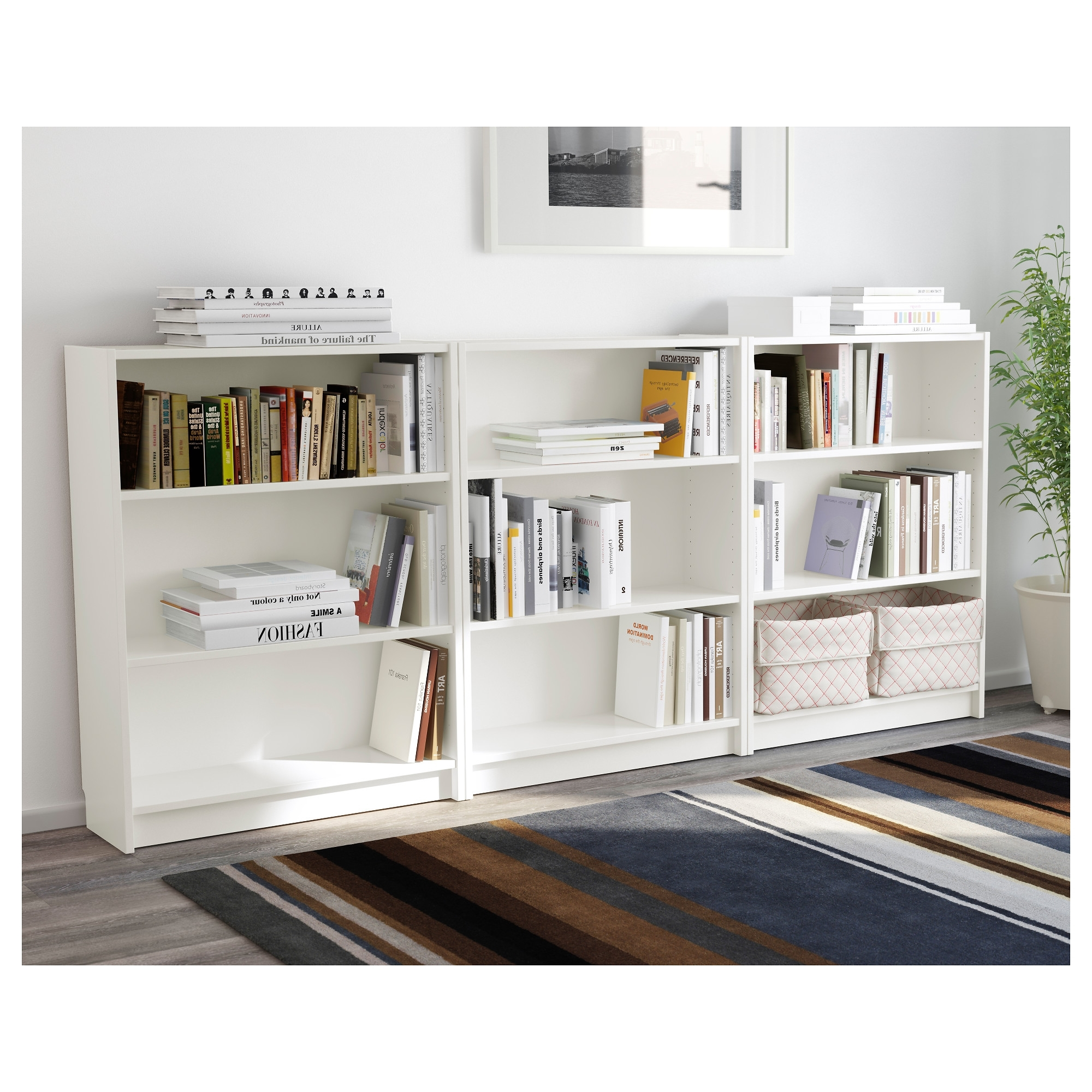 Ikea Billy Bookcases Throughout Most Popular Billy Bookcase – Black Brown – Ikea (View 4 of 15)