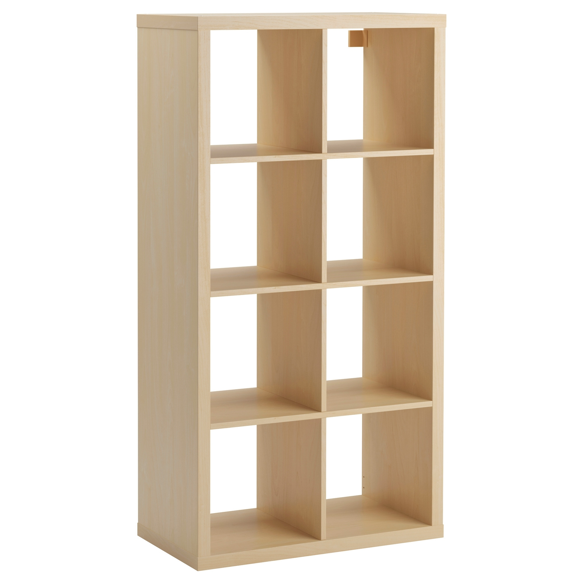 Ikea Expedit Bookcases Pertaining To Current Kallax Shelf Unit – Birch Effect – Ikea (Gallery 3 of 15)