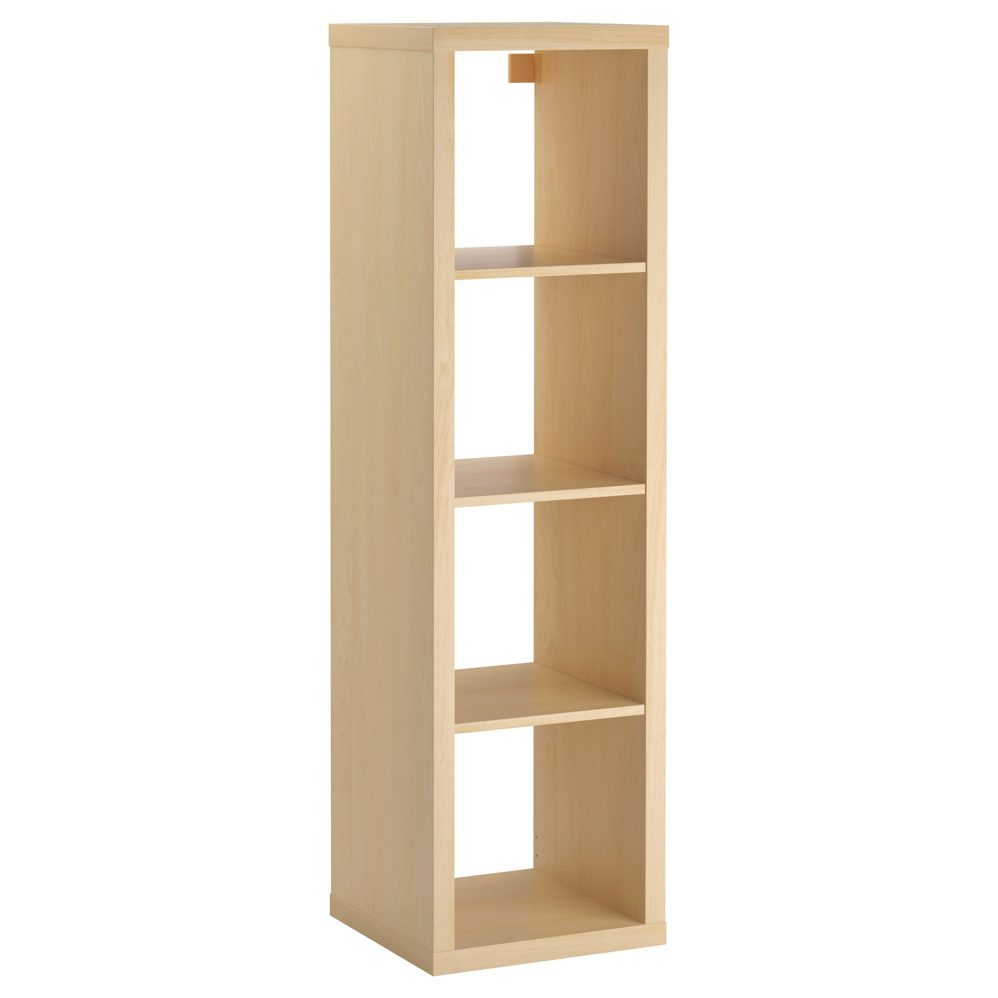 Ikea Expedit Bookcases Throughout Recent Kallax Shelf Unit – Birch Effect – Ikea (Gallery 7 of 15)