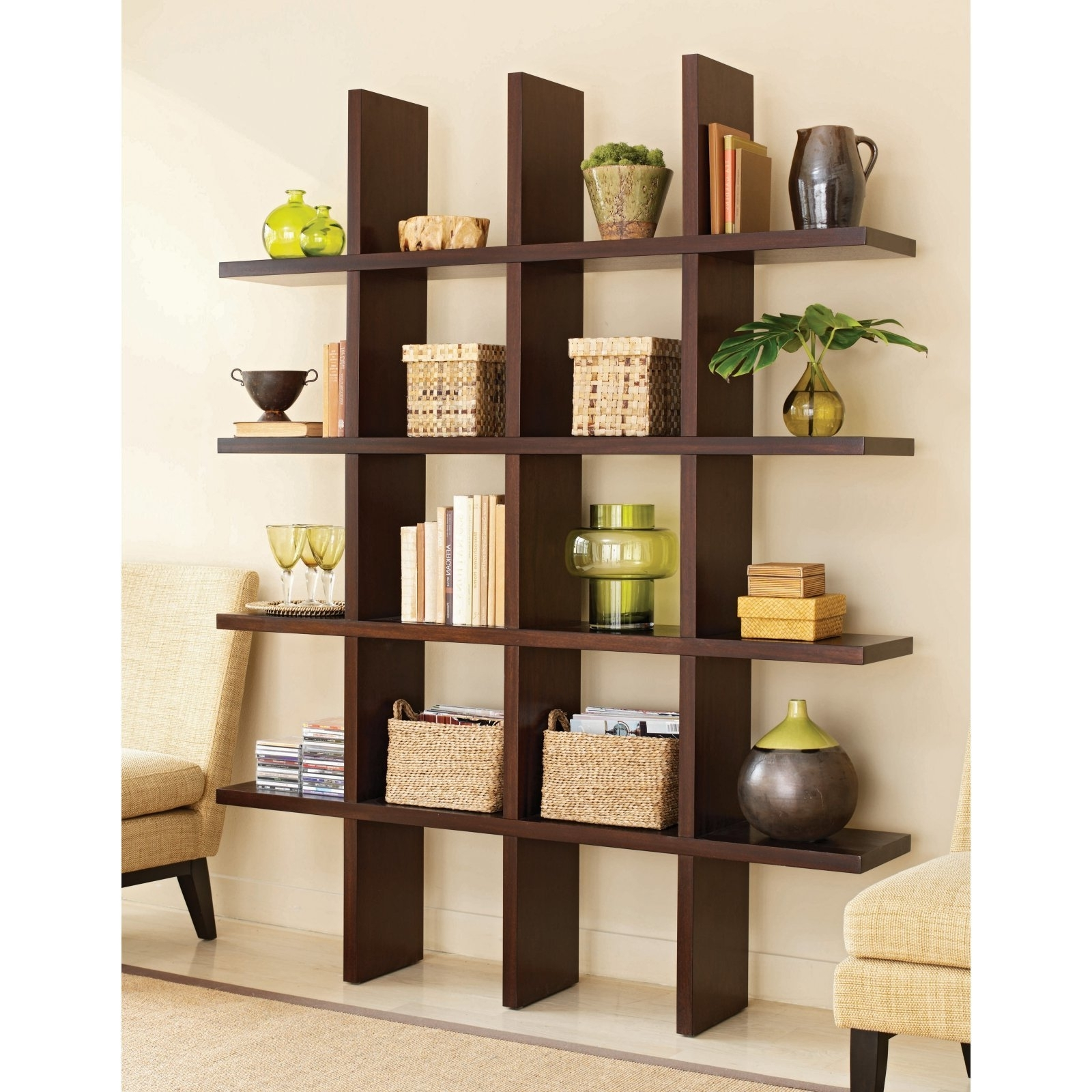 Image Result For Floating Book Shelves In Home Office Office Inside 2017 Free Standing Book Shelf (View 15 of 15)