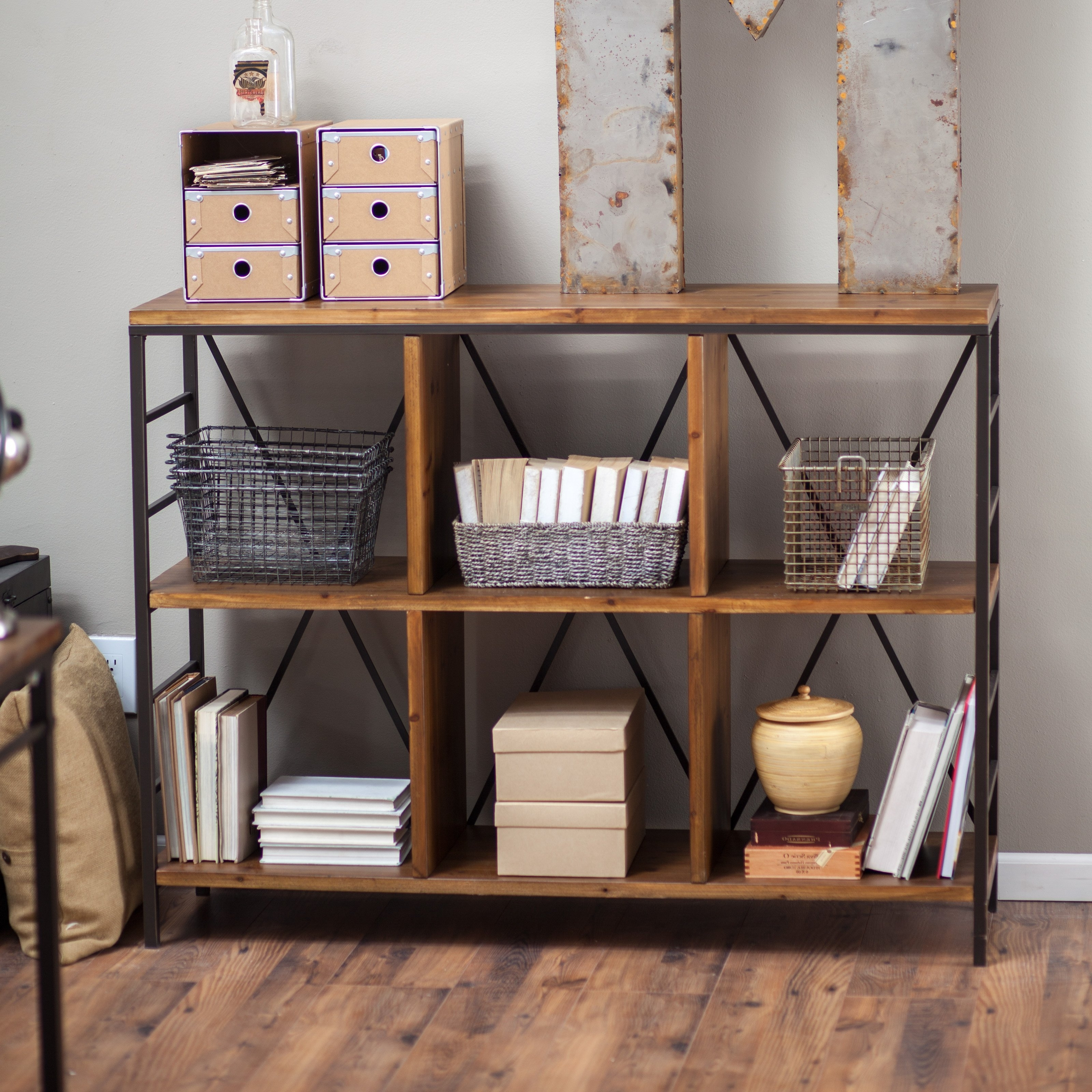 Inspirations: Cool Horizontal Bookcase For Storing Books And Within Latest Under Window Bookcases (Gallery 13 of 15)