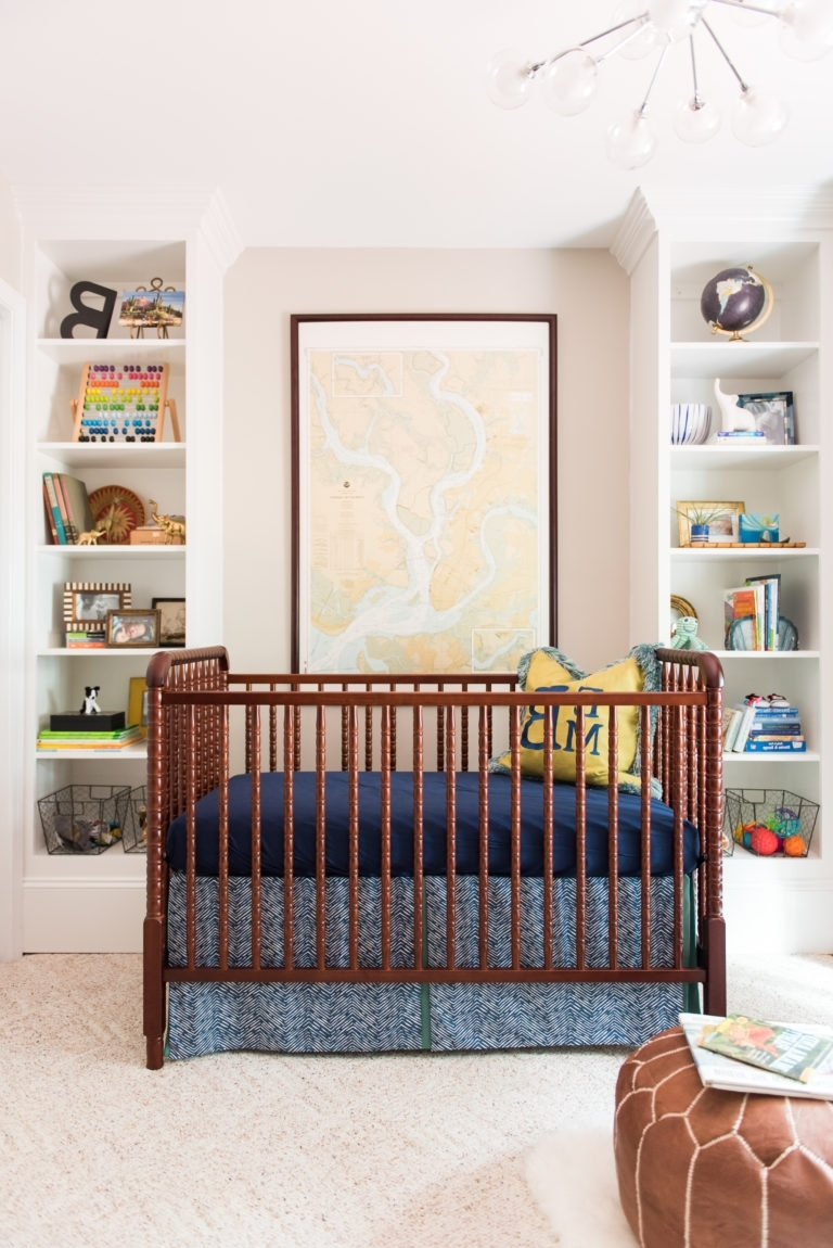 Jenny Lind Crib, Modern Nurseries And Within Jenny Lind Bookcases (View 2 of 15)