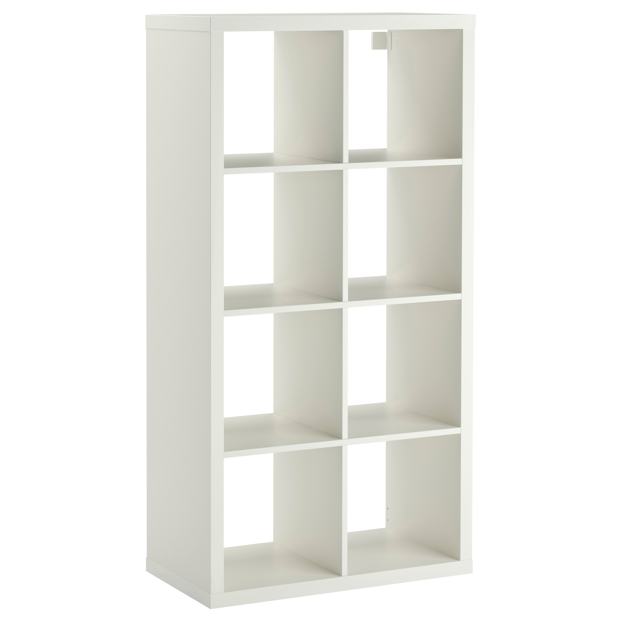 Kallax Shelf Unit – High Gloss White – Ikea Regarding Favorite Ikea Bookcases (Gallery 12 of 15)