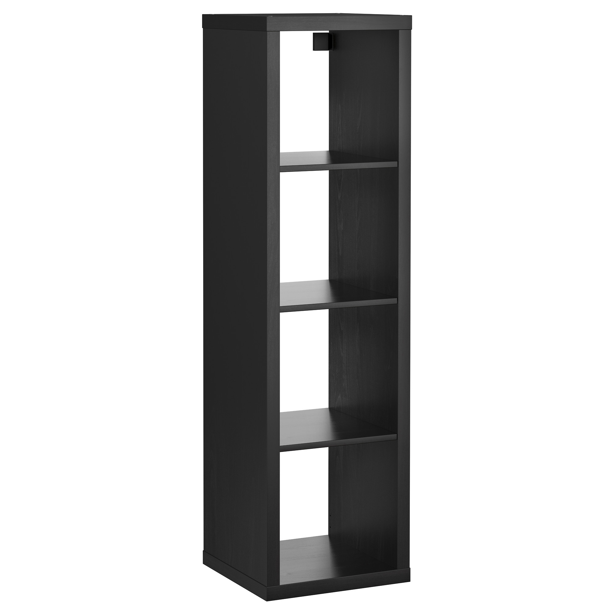 Kallax Shelving Unit Black Brown 42x147 Cm – Ikea With Most Recent Ikea Kallax Bookcases (View 10 of 15)