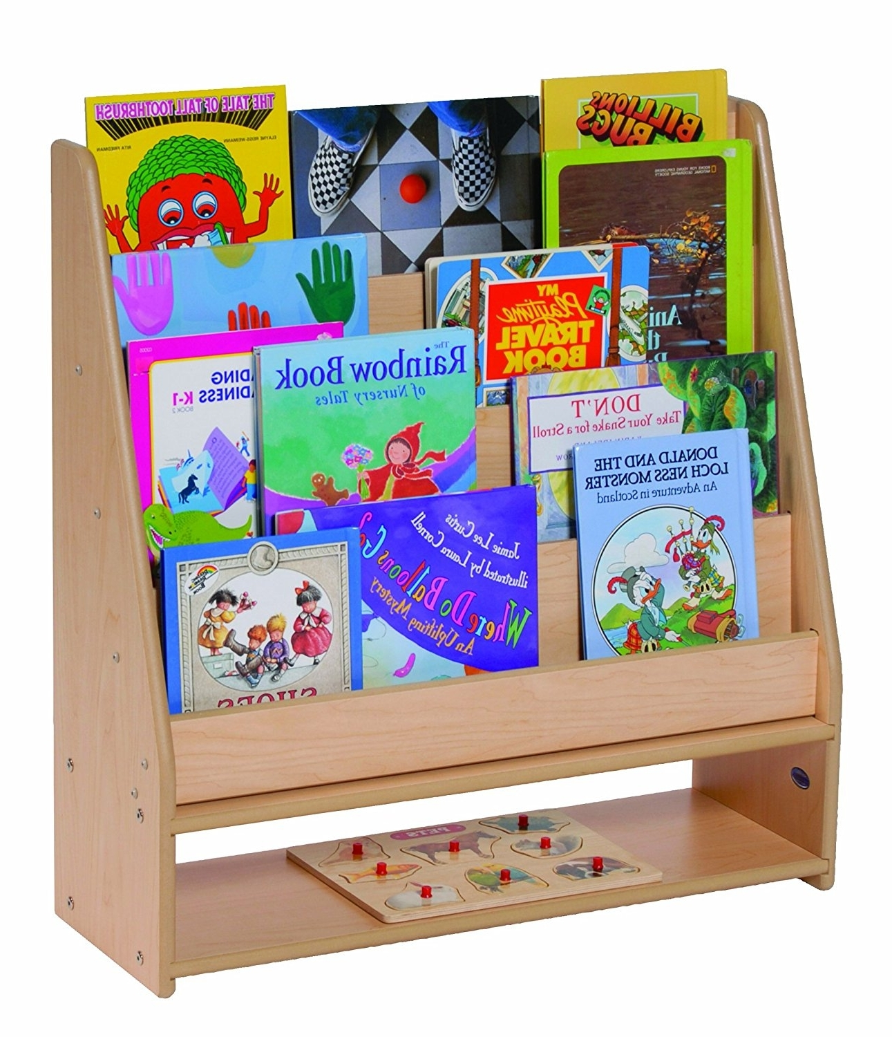Kidkraft Bookcases Within Well Known Bookshelf. Awesome Childrens Book Shelf: Awesome Childrens Book (Gallery 13 of 15)